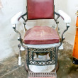 Foto de Stock  : Old Fashioned Chrome chair