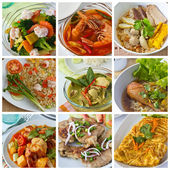 Cibo tailandese — Foto Stock
