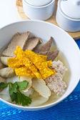 Thai noodle soup. — Stock Photo