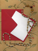 Paper sheet and envelope 2 — Stock Photo