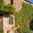 Typical Tuscan Farmhouse - Stock Photo