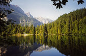 Tovel Lake-Italy — Stock Photo