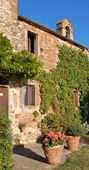 Typical Tuscan Farmhouse — Stock Photo