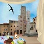 San Gimignano 2 — Stock Vector #11569051