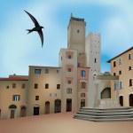 San Gimignano — Stock Vector #11569097