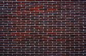 暗红色砖墙 — 图库照片