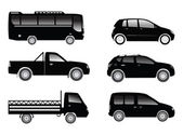 Transportation vehicles — Stock Vector