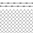 Wire fence — Stock Vector #11906607
