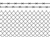 Wire fence — Stock Vector