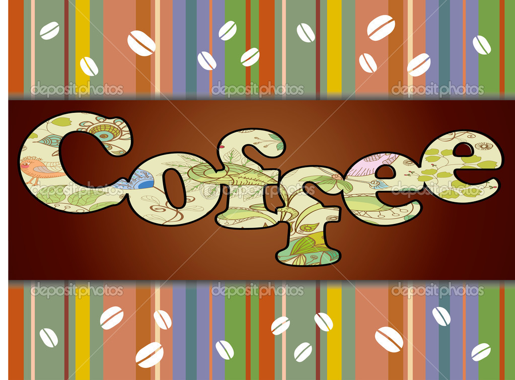 Coffee Background. coffee design templates — Stock Vector #10921184