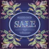 Sale, seasonal discounts. — Stock Vector