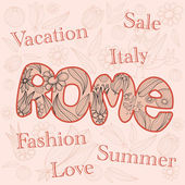 Fashion, Sale, Italy. — Stockvector