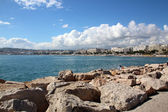 Famous bay of cannes in France — Stock Photo