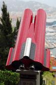 Telescope at travel destination — Stock Photo