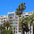 Luxury hotel on Croisette promenade in Cannes — Stock Photo #11371966