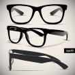 Glasses vector set — Stockvectorbeeld