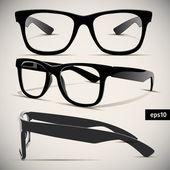 Brýle vektorové sada — Stock vektor