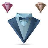 Vector business suit — Stock Vector