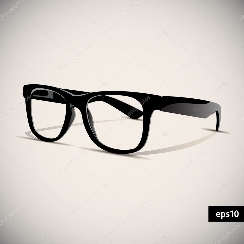 Hipster Glasses Vector Glasses vector - stock
