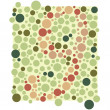 Colored circles vector. Colorful background. — Stock Vector