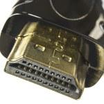 HDMI connector macro — Stock Photo #10928688