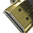 HDMI connector macro — Stock Photo #10928725