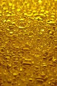 Gold bubbles macro — Stock Photo