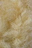 合成ウール繊維マクロ — ストック写真