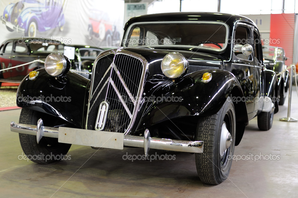 Citroen Traction Avant — Stock Photo #10733664