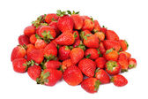 Frutas fresas aislado sobre fondo blanco — Foto de Stock