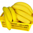 Bananas in the basket — Stock Photo