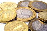 российская монета 10-крупным планом — Стоковое фото