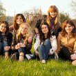 belles filles adolescentes — Photo