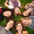 Stock Photo: Beautiful teenage girls