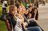 Girls in the Park — Stock Photo