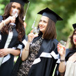 Bachelor's graduates celebrate — Stock Photo #11733081