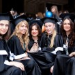 The group of graduates — Stock Photo