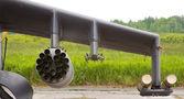 Rocket missile launcher — Stock Photo