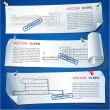 Set of Architectural Web Banners - Stock Vector
