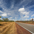 Outback road — Stock Photo