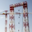 Big industrial crane on the sky — Stock Photo