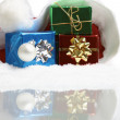 Small Christmas Packages — Stock Photo