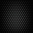 Royalty-Free Stock Vector Image: Black speaker grill, metal background, abstract texture.