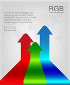 Vector illustration of rgb vector — Stock Vector