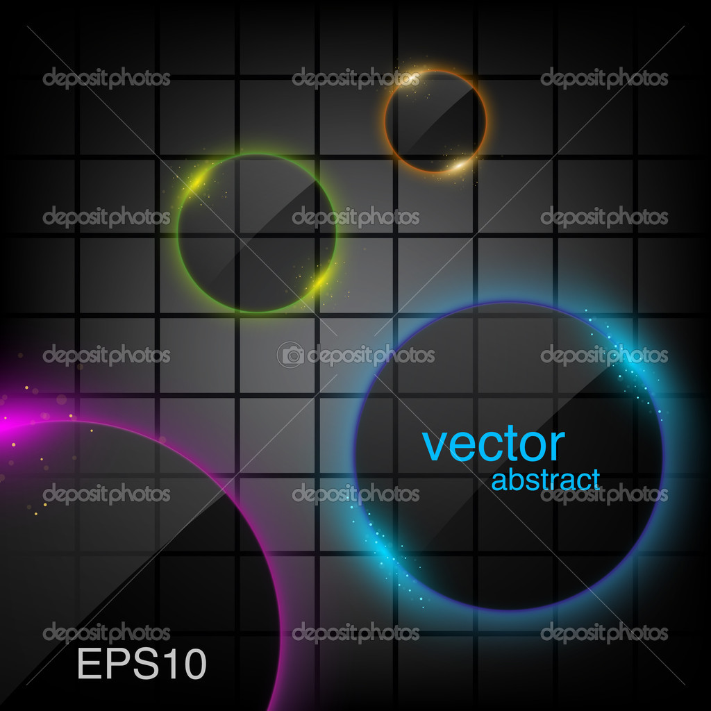 Abstract background with light frame — Stock Vector #11414851