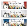 Royalty-Free Stock Vector Image: Back to school - vector banners