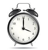 Vintage alarm clock — Stock Vector