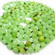 Stock Photo: Onyx mineral green beads