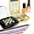 Cosmetic set for makeup — Stock Photo
