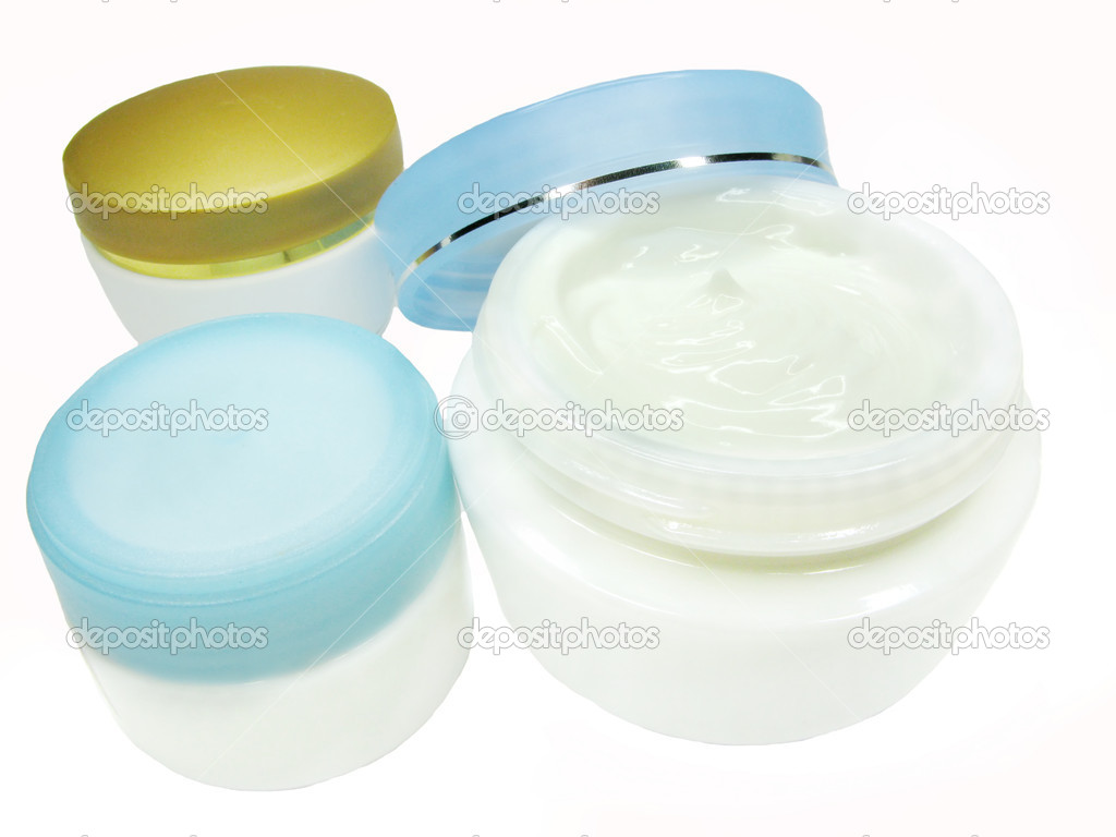 Cosmetic creme for face health-care — Stock Photo #10797096